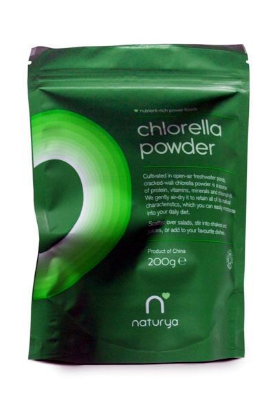 chlorella prášok recenzia