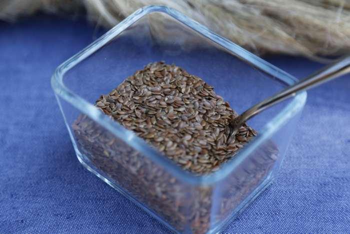 ľanové semienka celé
