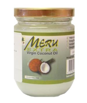 meru panenský kokosový olej