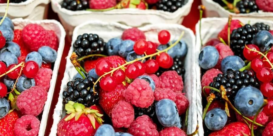 vláknina ovocie